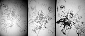 X-Men Ink Progression 2