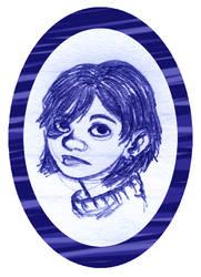 Birthmark girl