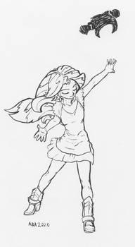 Inktober 2020 - Like A Phoenix