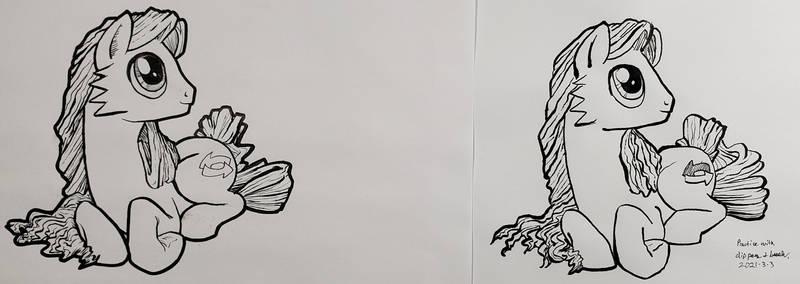 (Jan to Mar) Ink Practice 2021