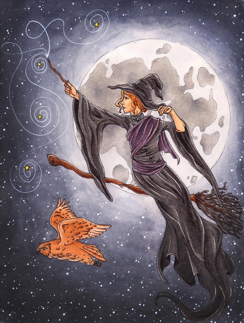 Proud To Be A Witch by myngorad