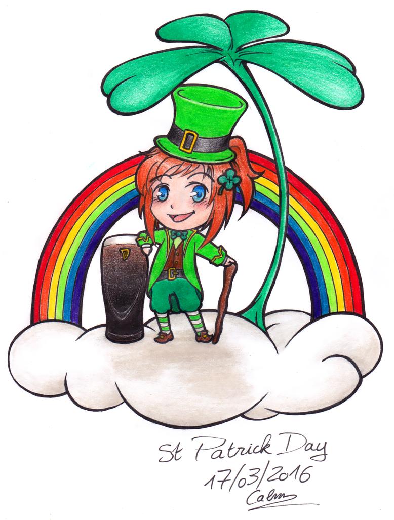 Saint Patrick Day ! by myngorad