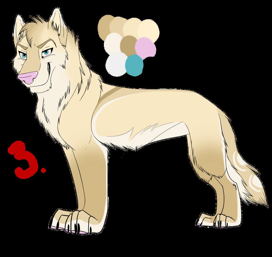 Wolf Auction #3 Adopt: MissAsiah by IzzyShea