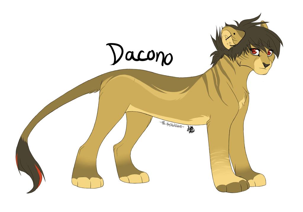 Original Character 2013: Dacono by IzzyShea
