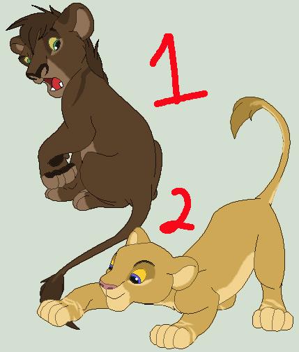 Cub Adopts: Batch 1 by IzzyShea