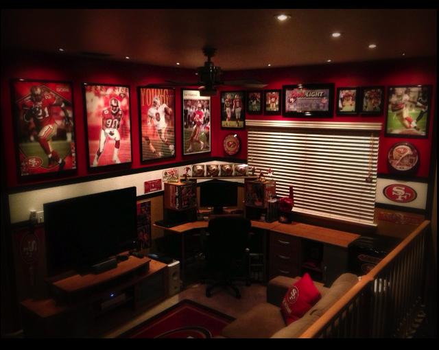49ers Man Cave Ideas