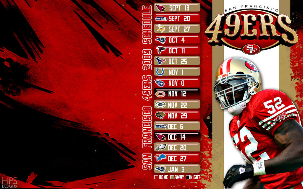 2009 49ers schedule wallpaper hps by hps209 on deviantart 2009 49ers schedule wallpaper hps by hps209 voltagebd Image collections