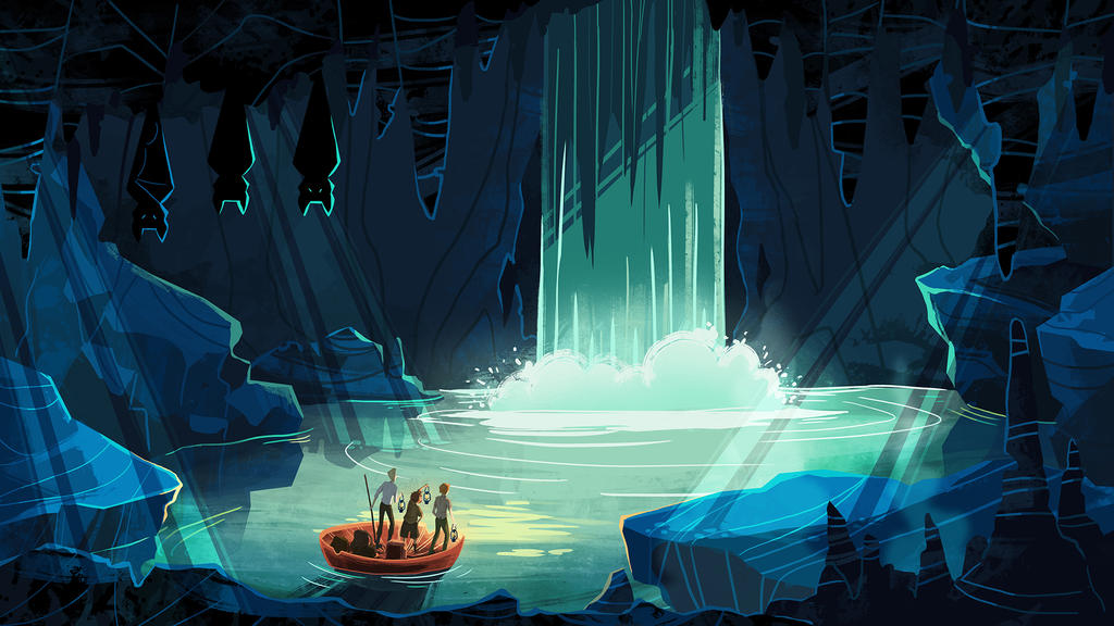 Journey to the Center of the Earth by jagoda-k on DeviantArt