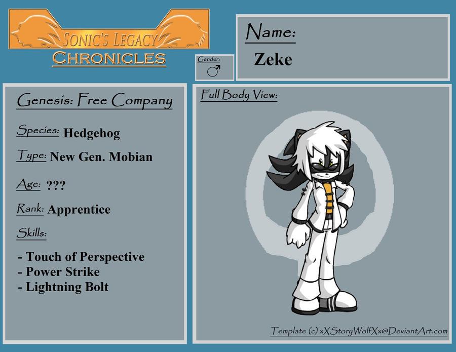 Black Hero: Zeke by Hotspot0626