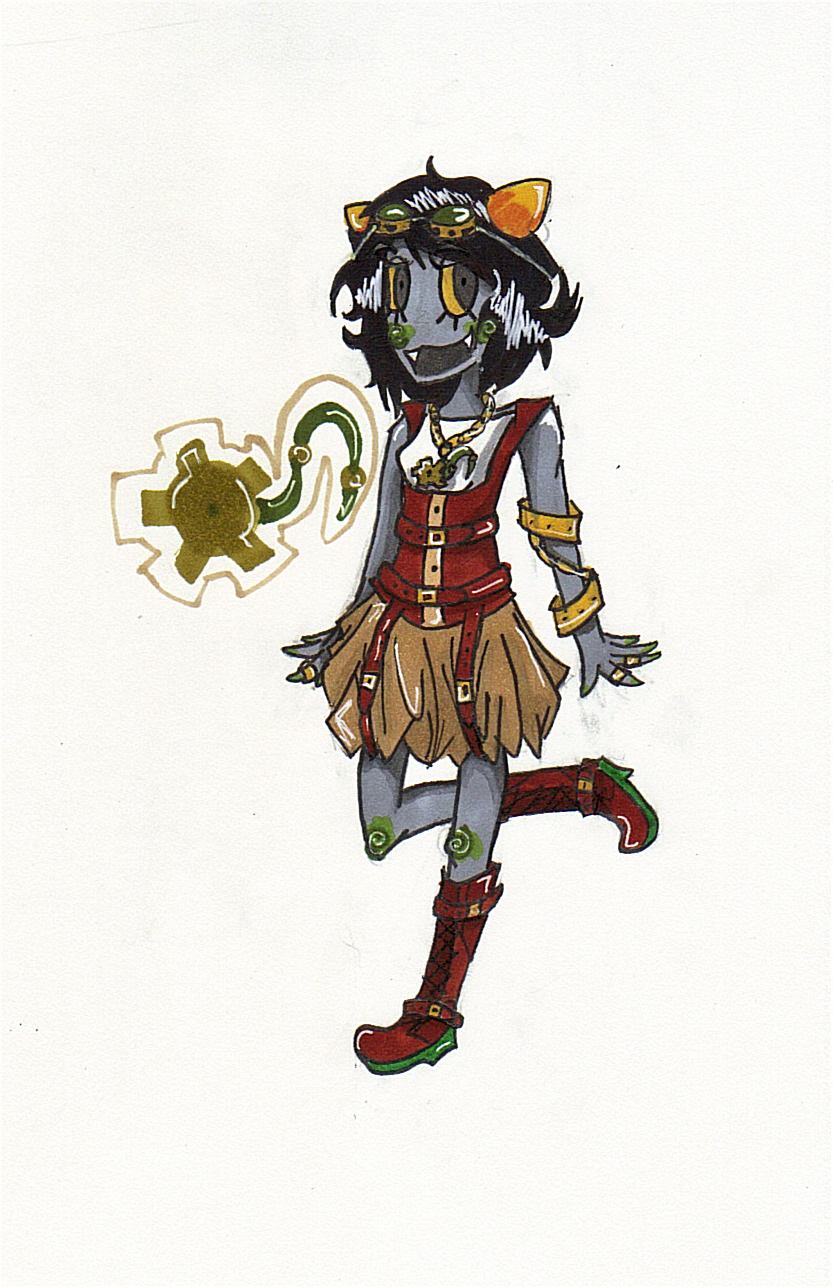 Steampunk Nepeta by Giromii