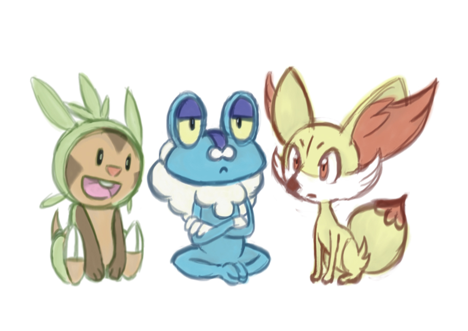 chespin fennekin froakie related keywords chespin