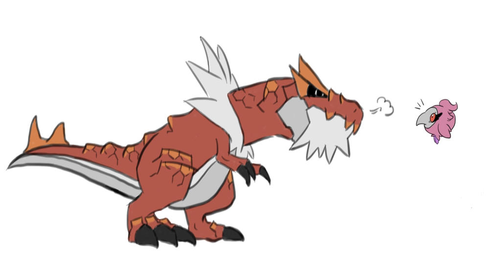 tyrantrum versus spritzee by -#main