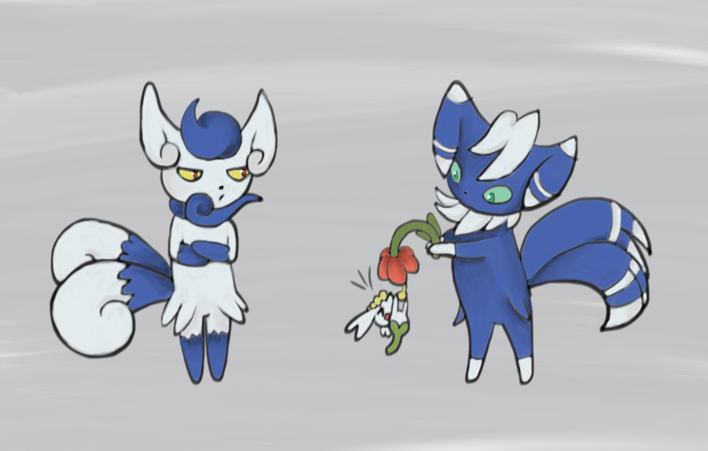 Quick! Post your favorite pokemon doing cute things! : pokemon