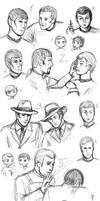 Star Trek Sketch Madness