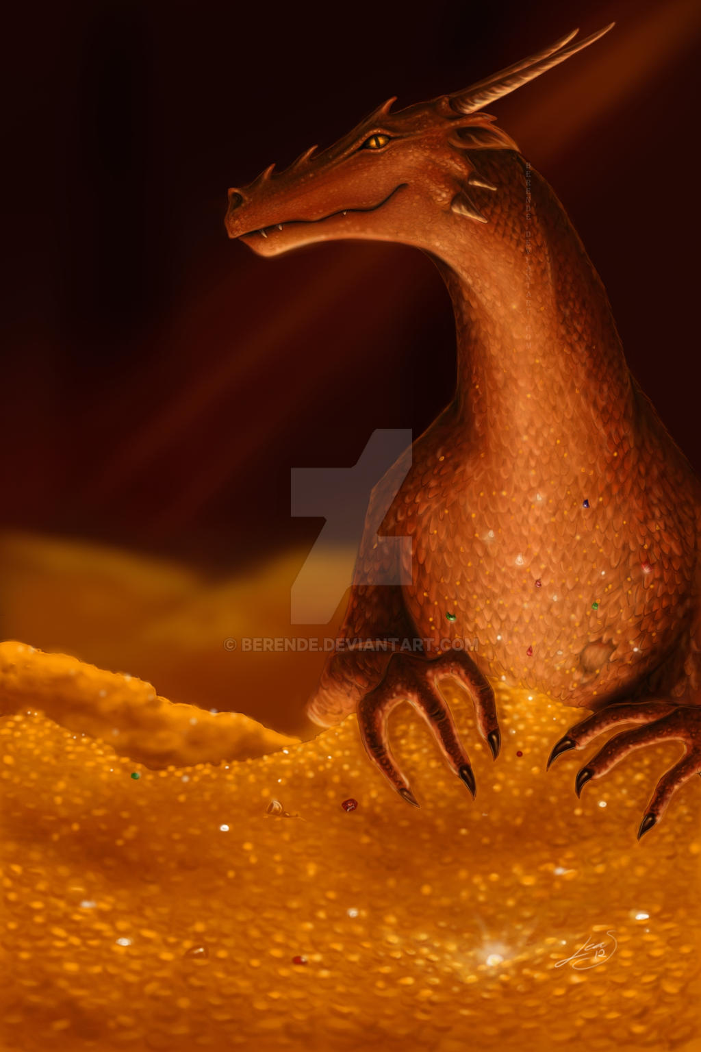 Smaug by Berende