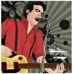 Mick Jones- The Clash by janierotten