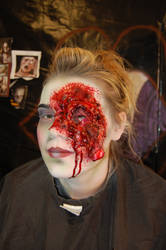 gouged out eyeball by studioexperiment