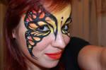 monarch facepaint