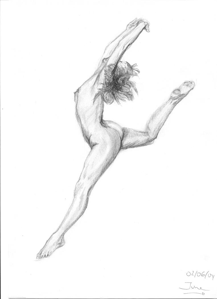 Chica Saltando by arrikitukis