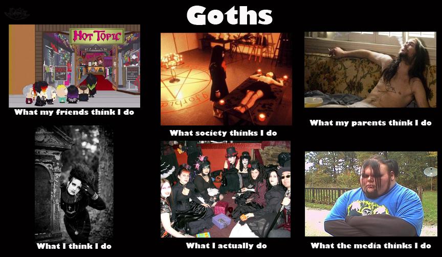 Goth meme