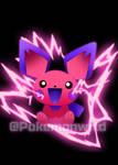 Shiny Pichu Concept Art #Pokemon