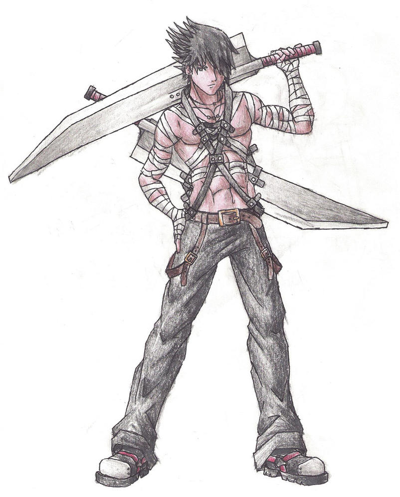 My Anime Character By TwilightTownRoxas