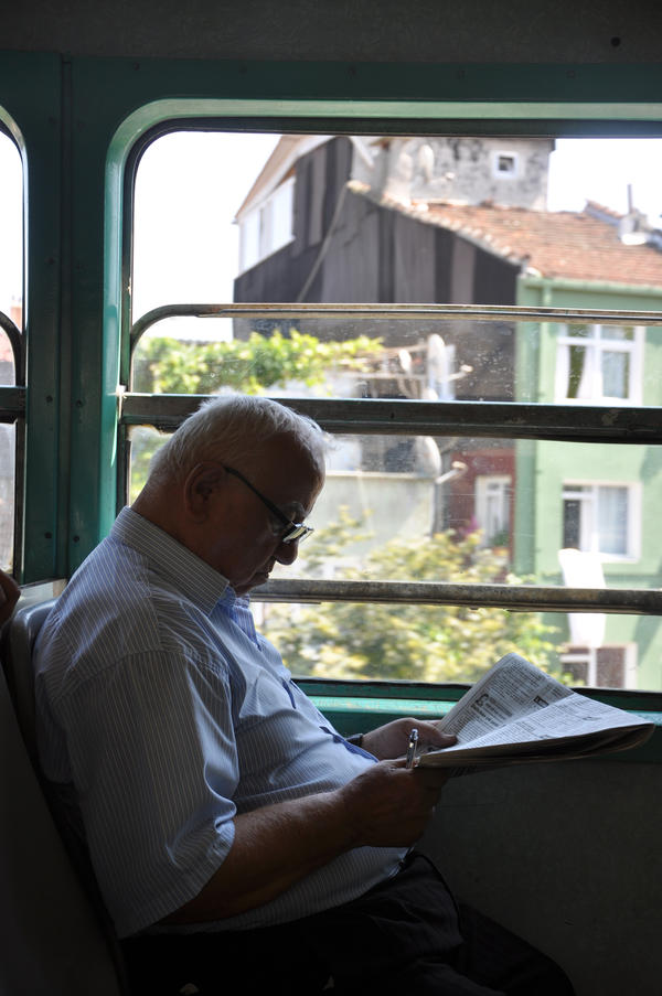 Landscapes from train by gokmenkaya