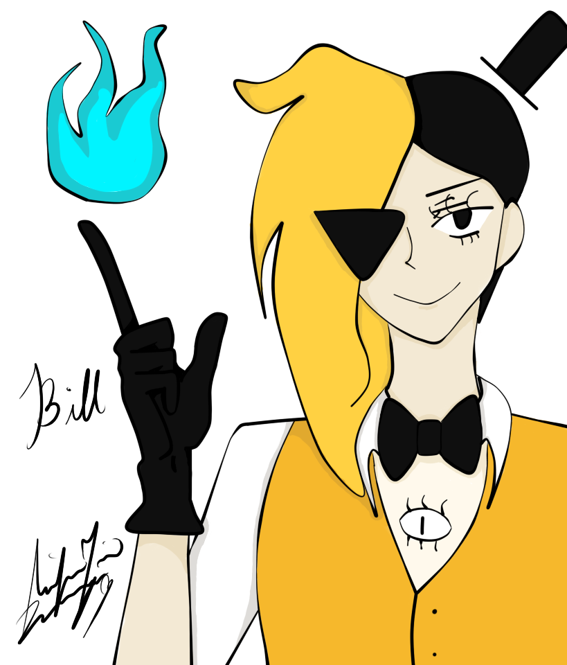 Bill Cipher by blossomxdexter4eva