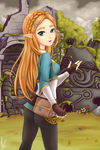 Princess Zelda - Breath of the Wild