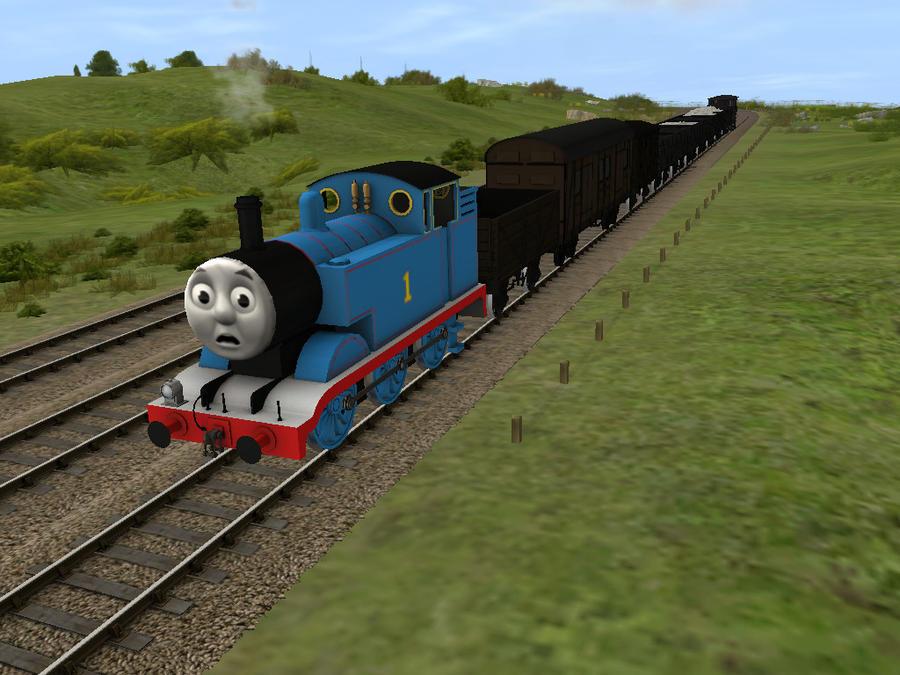 CGI Thomas And The Trucks By OriginalThomasfan89 On DeviantArt
