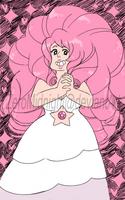 Rose Quartz doodle by ZeroMidnight