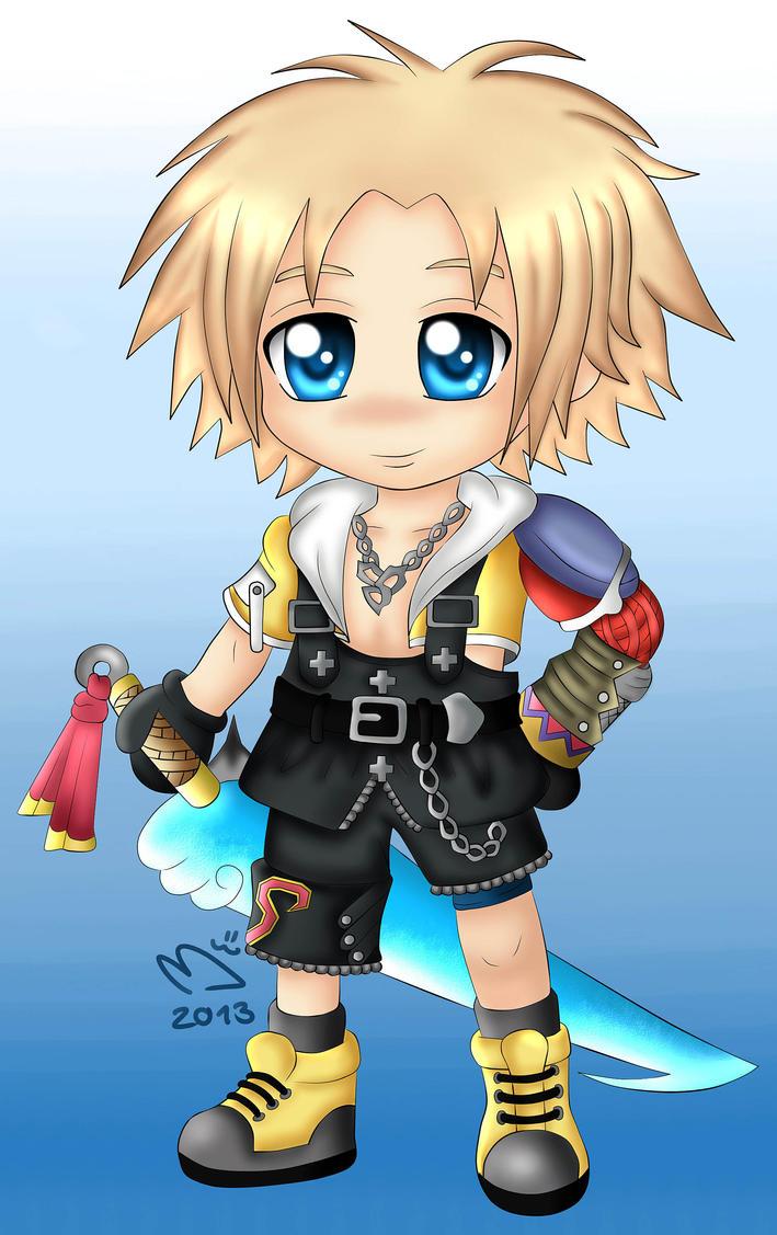Final Fantasy X : Tidus by ChibinatorXD
