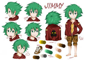 My OC Jimmy: Facial Expressions practice