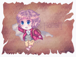 THE HOBBIT - Bilbo Baggins Chibi