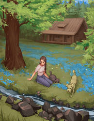By the Brook