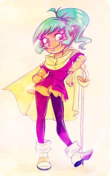 Sassy Elf Girl