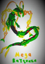 Mega Rayquaza by robotman25