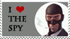 I love the spy stamp
