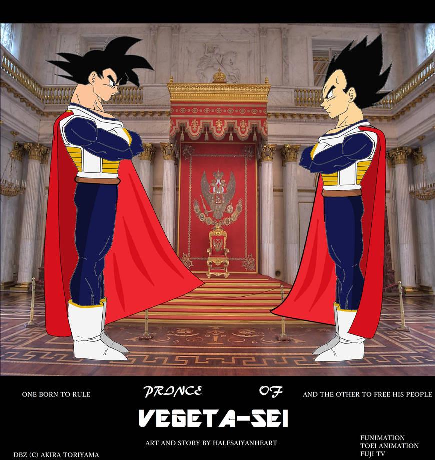 Prince of Vegeta-sei Cover by HalfSaiyanHeart on DeviantArt