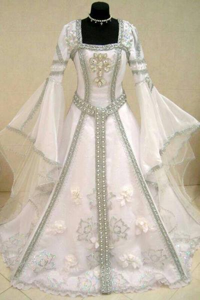 Elvish Wedding Dress Pretty By Amberella30 On Deviantart