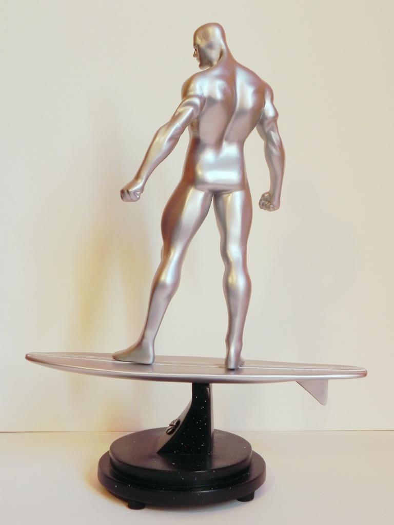 Silver Surfer Restoration by georgesmassilia