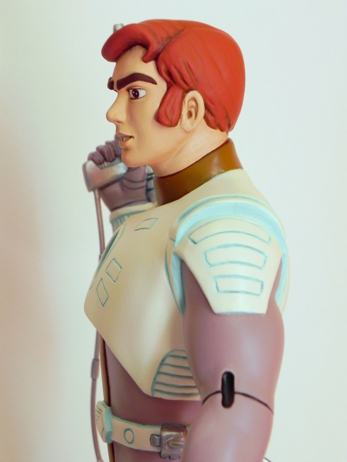 Captain Future detail by georgesmassilia