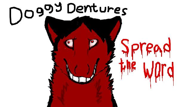 doggy dentures by blackneko42 on deviantart