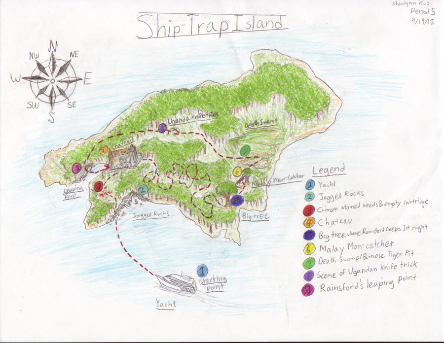 Ship Trap Island by BlackNeko42 on DeviantArt