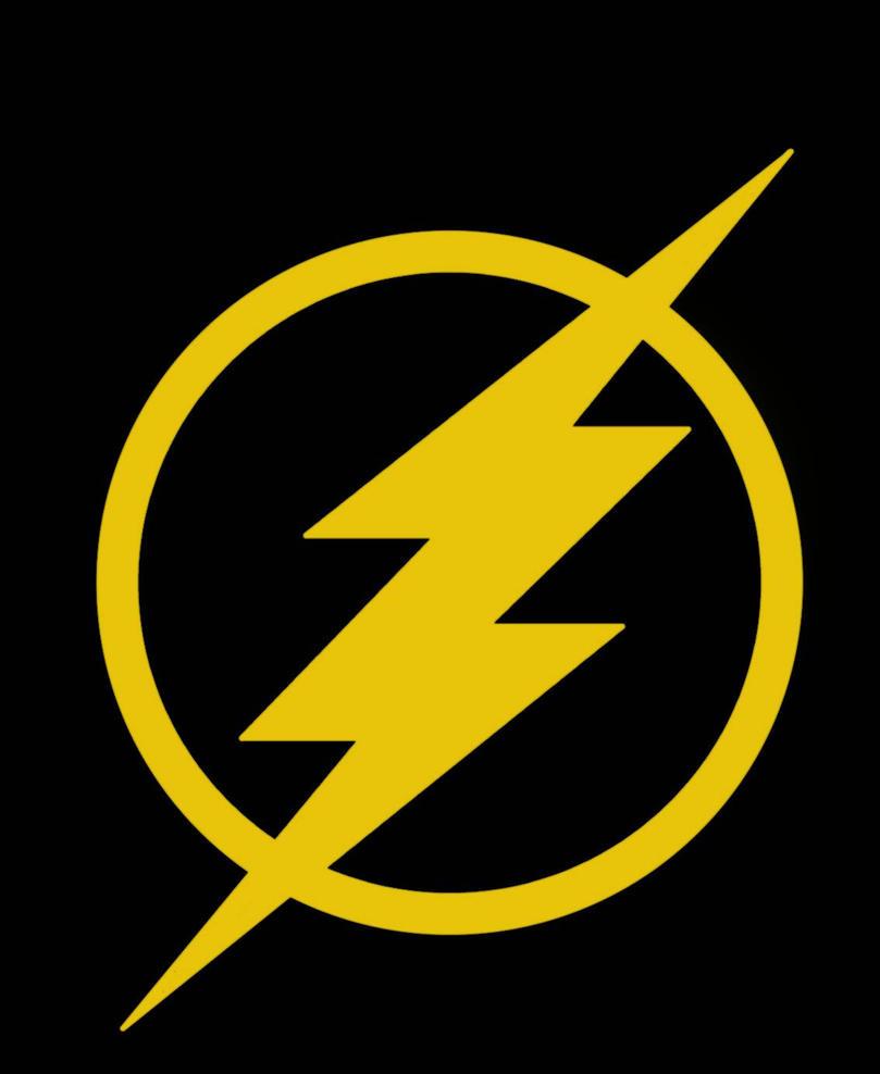the flash symbol flat by deathcantrell on deviantart. Black Bedroom Furniture Sets. Home Design Ideas