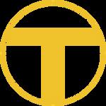 Teen Titans Symbol Flat