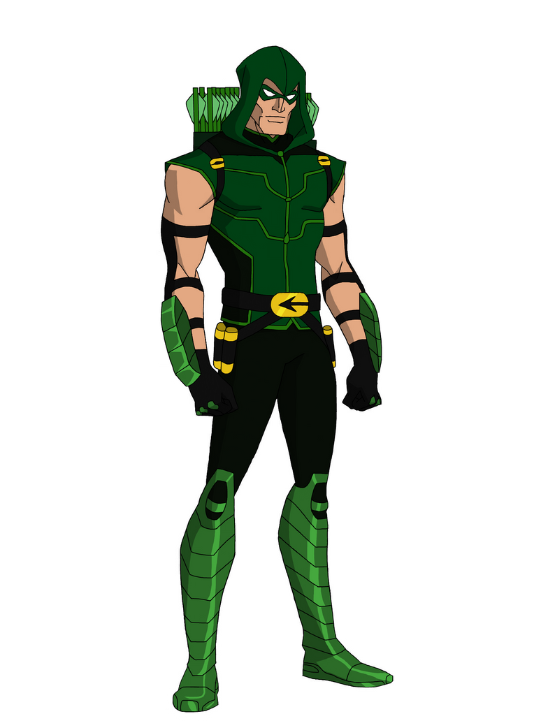 Young Justice New 52 Green Arrow Hood by DeathCantrell on ...