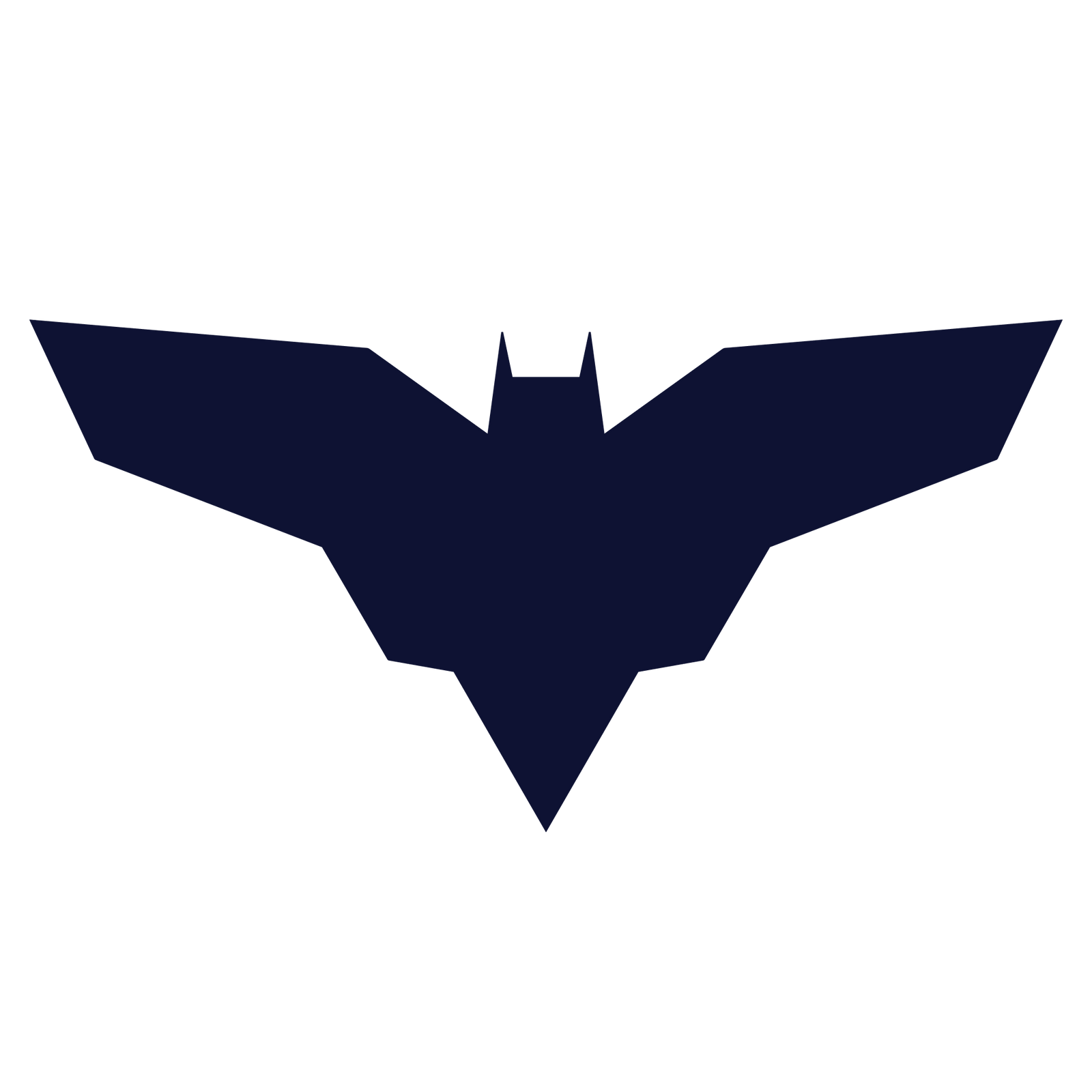 Injustice 2 batman symbol navy blue by deathcantrell on Batman symbol
