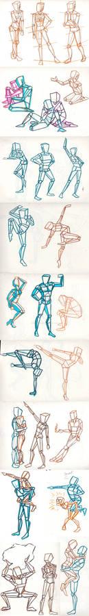 Figure Study Step 1