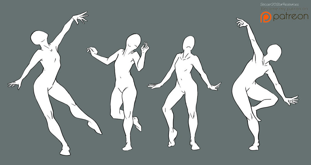 Free2use Bases Dance Poses W Background By Courtneysconcepts On